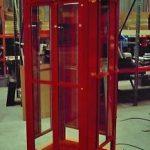 SUPERMAN TELEPHONE BOOTH ENCLOSURE