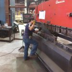 CNC Press Break Services in Houston Texas