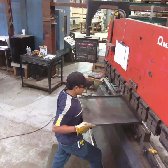CNC Press Break Services in Houston Texas